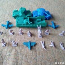 Figuras de Goma y PVC: MONTAPLEX LOTE. Lote 154409990