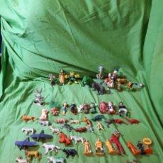 Figuras de Goma y PVC: LOTE VARIADO FIGURAS PVC DIFERENTES MARCAS Y SIN MARCAS. Lote 154525214