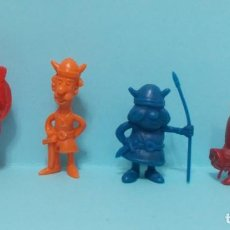 Figuras de Goma y PVC: COLECCION FIGURAS TIPO DUNKIN - VICKY EL VIKINGO - LOTE 2. Lote 154534490