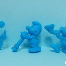 Figuras de Goma y PVC: FIGURAS DUNKIN - PITUFOS - LOTE 2. Lote 154538986