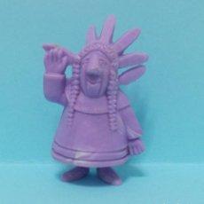 Figuras de Goma y PVC: FIGURA DUNKIN - INDIO - VICKIE EL VIKINGO. Lote 154540678