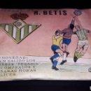 Figuras de Goma y PVC: SOBRE PEGASIN REAL BETIS BALOMPIE, FÚTBOL, TIPO MONTAPLEX, NUNCA ABIERTO, AÑOS 60.. Lote 154651482