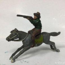 Figuras de Goma y PVC: FIGURA GOMA VAQUERO REAMSA AÑOS 50 WESTERN OESTE. Lote 154735774