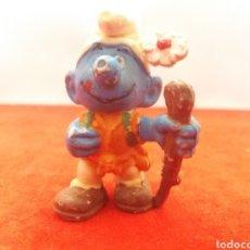 Figuras de Goma y PVC: FIGURA GOMA LOS PITUFOS. Lote 154808200
