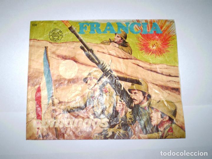 Figuras de Goma y PVC: MONTAPLEX SOBRE Nª 106 FRANCIA COMBATIENTES VACÍO + 1 COLADA DE SOLDADOS FRANCESES - Foto 2 - 154822402