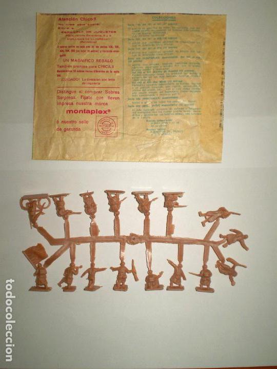 Figuras de Goma y PVC: MONTAPLEX SOBRE Nª 106 FRANCIA COMBATIENTES VACÍO + 1 COLADA DE SOLDADOS FRANCESES - Foto 3 - 154822402
