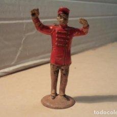 Figuras de Goma y PVC: FIGURA DE GOMA DIRECTOR ORQUESTA GRAN CIRCO JECSAN. Lote 154826474