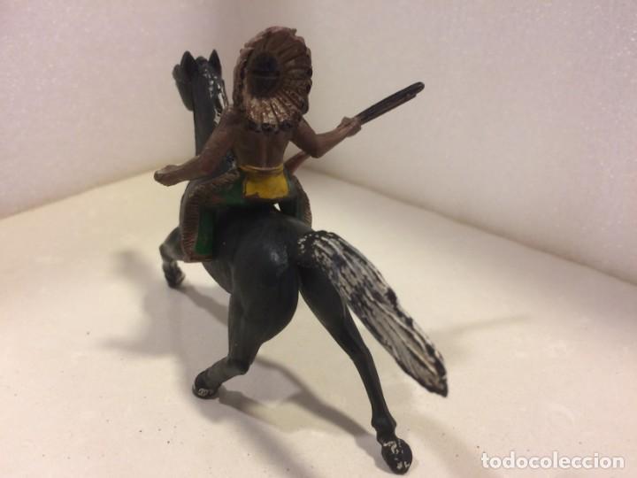 Figuras de Goma y PVC: Sotorres - Jinete Indio Goma - Foto 3 - 154827026