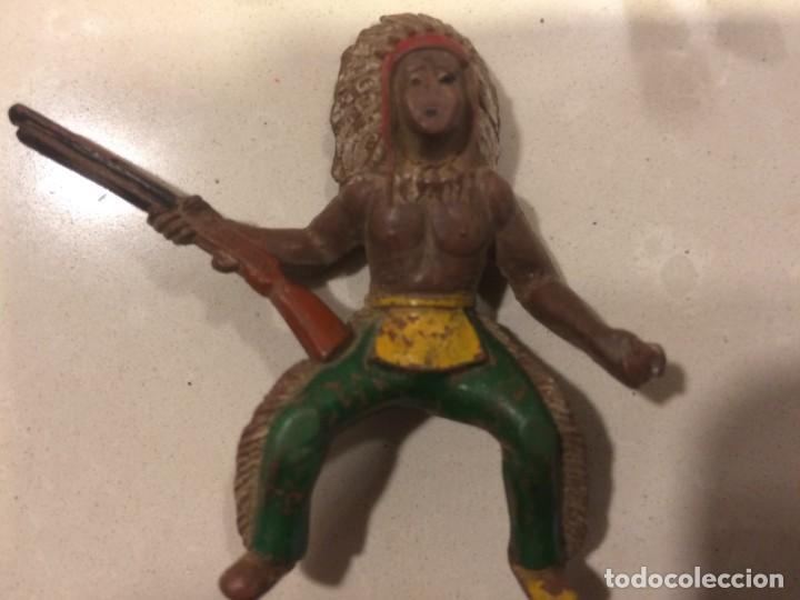 Figuras de Goma y PVC: Sotorres - Jinete Indio Goma - Foto 5 - 154827026