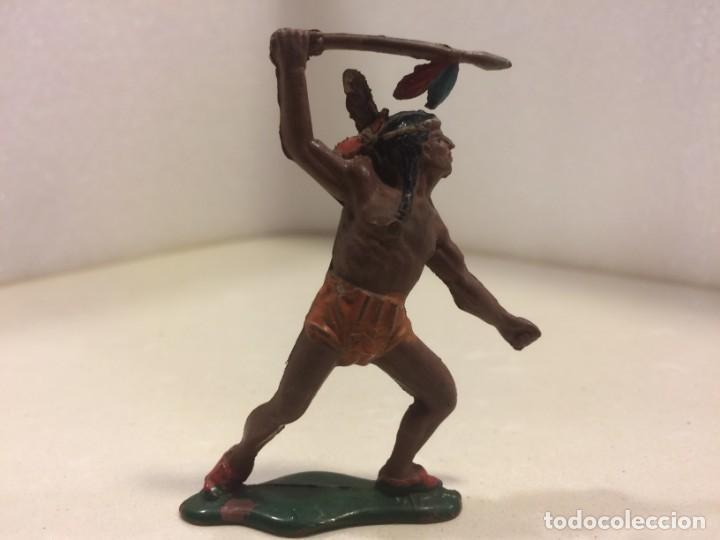 TEIXIDO - FIGURA INDIO GOMA (Juguetes - Figuras de Goma y Pvc - Teixido)