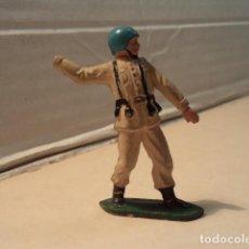 Figuras de Goma y PVC: FIGURA DE GOMA SOLDADO ESPAÑOL TEIXIDO. Lote 154830410