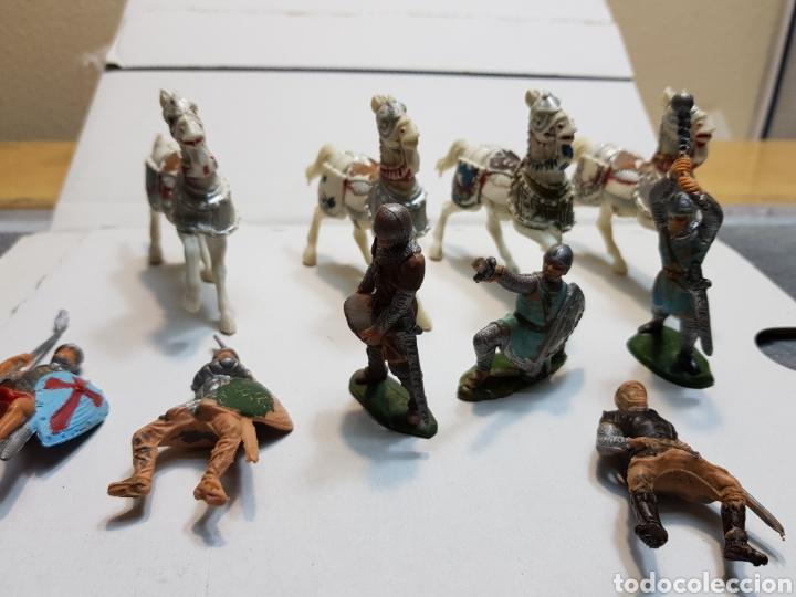 FIGURAS REAMSA LOTE MEDIEVAL ALGUNA ESCASA (Juguetes - Figuras de Goma y Pvc - Reamsa y Gomarsa)