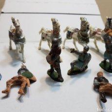 Figuras de Goma y PVC: FIGURAS REAMSA LOTE MEDIEVAL ALGUNA ESCASA. Lote 154841808