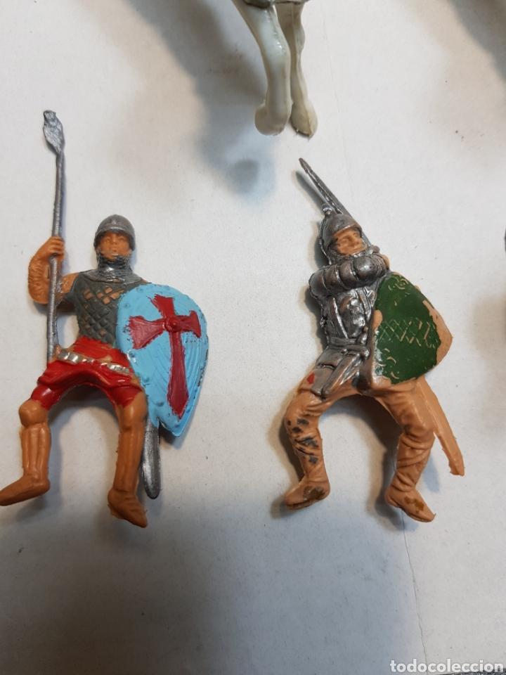 Figuras de Goma y PVC: Figuras Reamsa lote medieval alguna escasa - Foto 2 - 154841808
