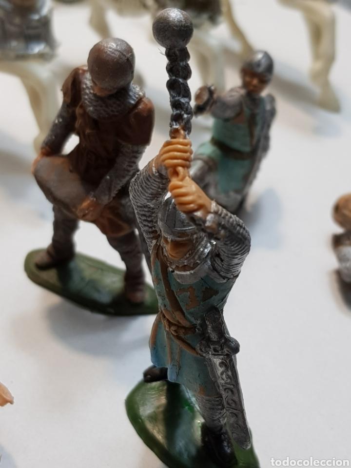 Figuras de Goma y PVC: Figuras Reamsa lote medieval alguna escasa - Foto 4 - 154841808