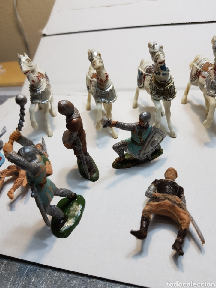 Figuras de Goma y PVC: Figuras Reamsa lote medieval alguna escasa - Foto 5 - 154841808
