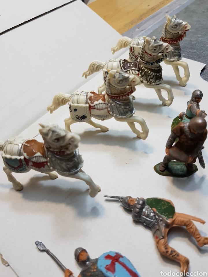 Figuras de Goma y PVC: Figuras Reamsa lote medieval alguna escasa - Foto 6 - 154841808