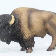 Figuras de Goma y PVC: ANIMALES SCHLEICH 14349 BISONTE O BUFALO AMERICANO. Lote 154846946