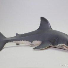 Figuras de Goma y PVC: ANIMALES SCHLEICH 16092 GRAN TIBURON BLANCO. Lote 154849134