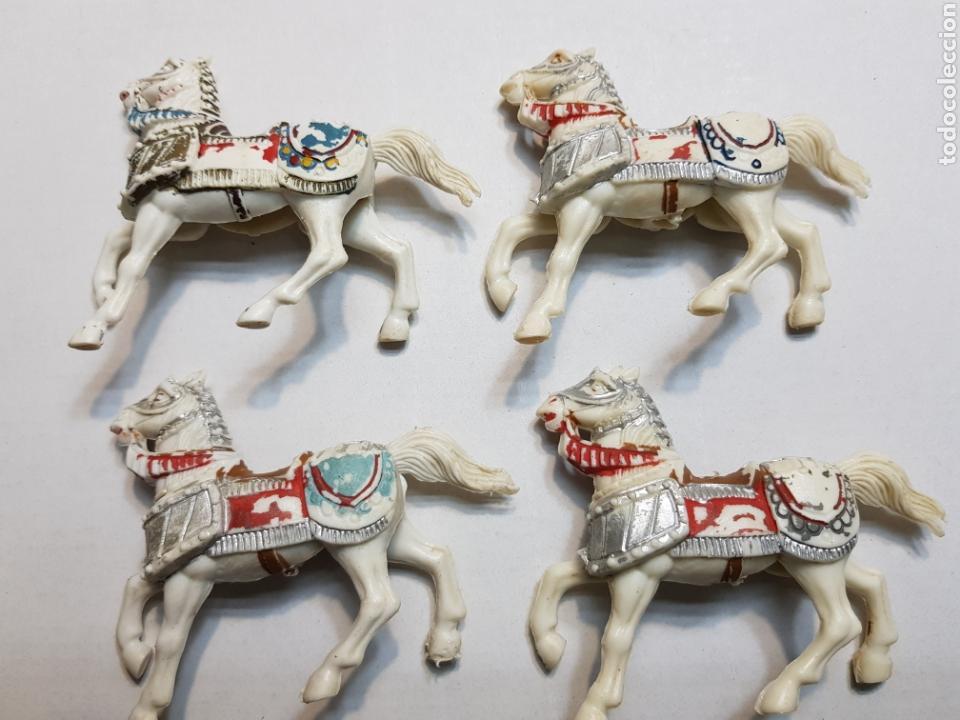 Figuras de Goma y PVC: Figuras Reamsa lote medieval alguna escasa - Foto 11 - 154841808