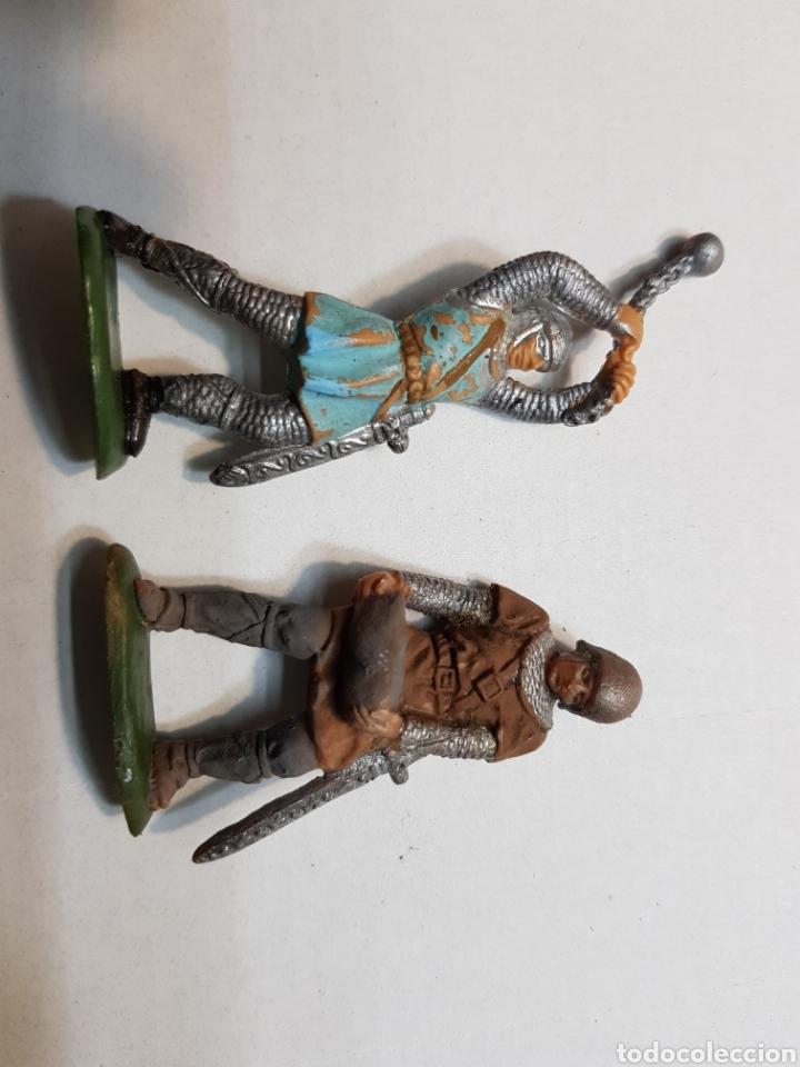 Figuras de Goma y PVC: Figuras Reamsa lote medieval alguna escasa - Foto 7 - 154841808