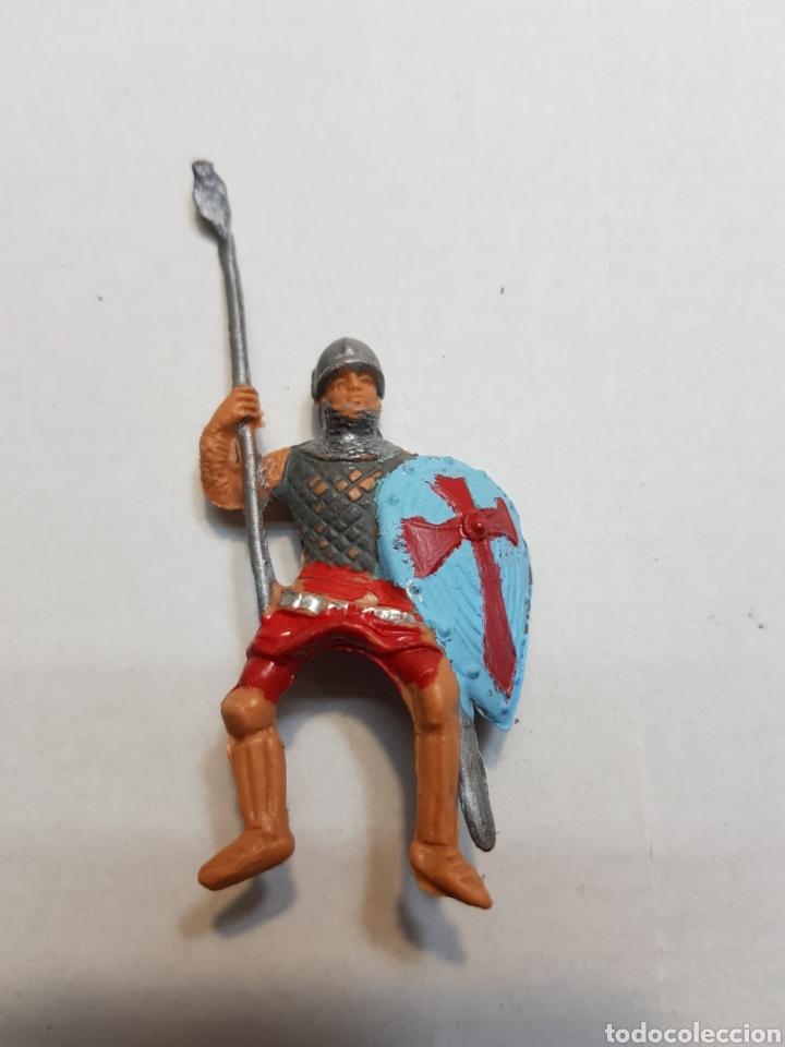 Figuras de Goma y PVC: Figuras Reamsa lote medieval alguna escasa - Foto 8 - 154841808