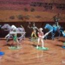 Figuras de Goma y PVC: FIGURAS DE PLÁSTICO LOTE 11 REAMSA COMANSI JECSAN SOLDADOS DE ESPAÑA.. Lote 154885290