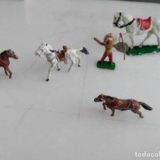 Figuras de Goma y PVC: LOTE DE FIGURAS MINI OESTE DE COMANSI . Lote 154948806