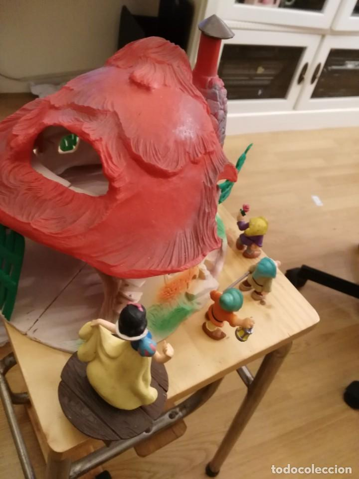 Figuras de Goma y PVC: Casa o casita Blancanieves y los enanitos. Bully. Gran tamaño - Foto 4 - 155007610