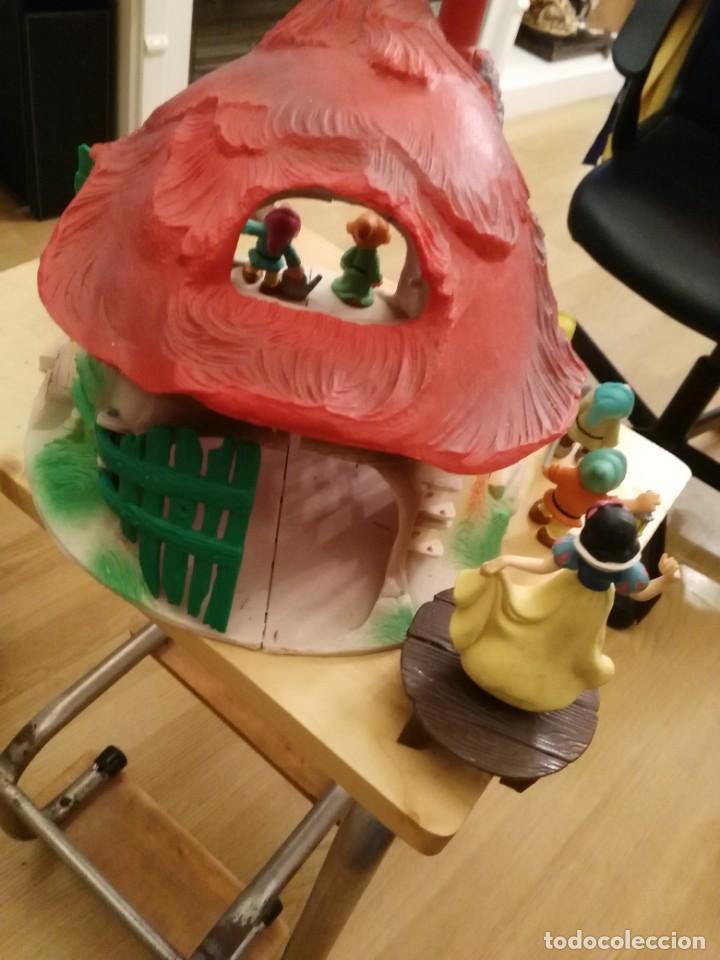 Figuras de Goma y PVC: Casa o casita Blancanieves y los enanitos. Bully. Gran tamaño - Foto 5 - 155007610
