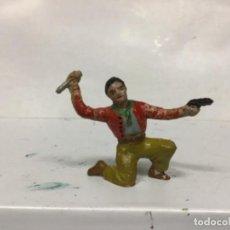 Figuras de Borracha e PVC: FIGURA GOMA ALCA CAPELL PECH VAQUERO OESTE WESTERN AÑOS 50/60 . Lote 155036230