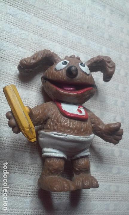 FIGURA RODOLFO -PEQUEÑECOS, MUPPETS BABIES- 86 HA! COMICS SPAIN (Juguetes - Figuras de Goma y Pvc - Comics Spain)