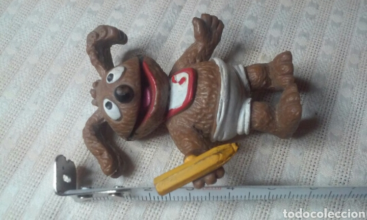 Figuras de Goma y PVC: FIGURA RODOLFO -PEQUEÑECOS, MUPPETS BABIES- 86 HA! COMICS SPAIN - Foto 2 - 155164402