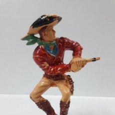 Figuras de Goma y PVC: VAQUERO - COWBOY . REALIZADO POR LAFREDO . AÑOS 60 . SERIE GRANDE. Lote 155287266