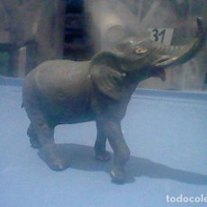 Figuras de Goma y PVC: ELEFANTE TEIXIDO TIPO JECSAN PECH TROMPA ROTA GOMA ANTIGUO ORIGINAL . Lote 155291110
