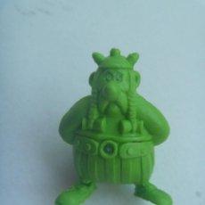 Figuras de Goma y PVC: FIGURA DE DUNKIN DE ASTERIX : OBELIX . DETRAS PONE UDERZO 80.. Lote 155313374