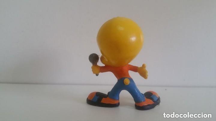 Figuras de Goma y PVC: MUÑECO EN PVC LOONEY TUNES: CANTANTE PIOLIN DE BULLY - Foto 2 - 155322554