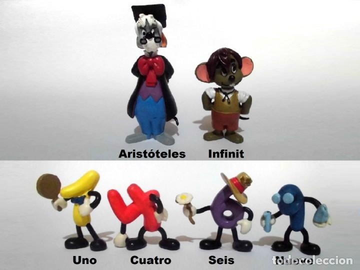 LOTE ANTIGUAS FIGURAS EN GOMA PVC COMICS SPAIN SERIE 10+2 - 10 + 2 NUMEROS (Juguetes - Figuras de Goma y Pvc - Otras)