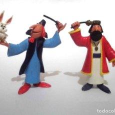 Figuras de Goma y PVC: LOTE ANTIGUAS FIGURAS EN GOMA PVC COMICS SPAIN 1985 MAGIC BRUFFI Y REY. Lote 155324210
