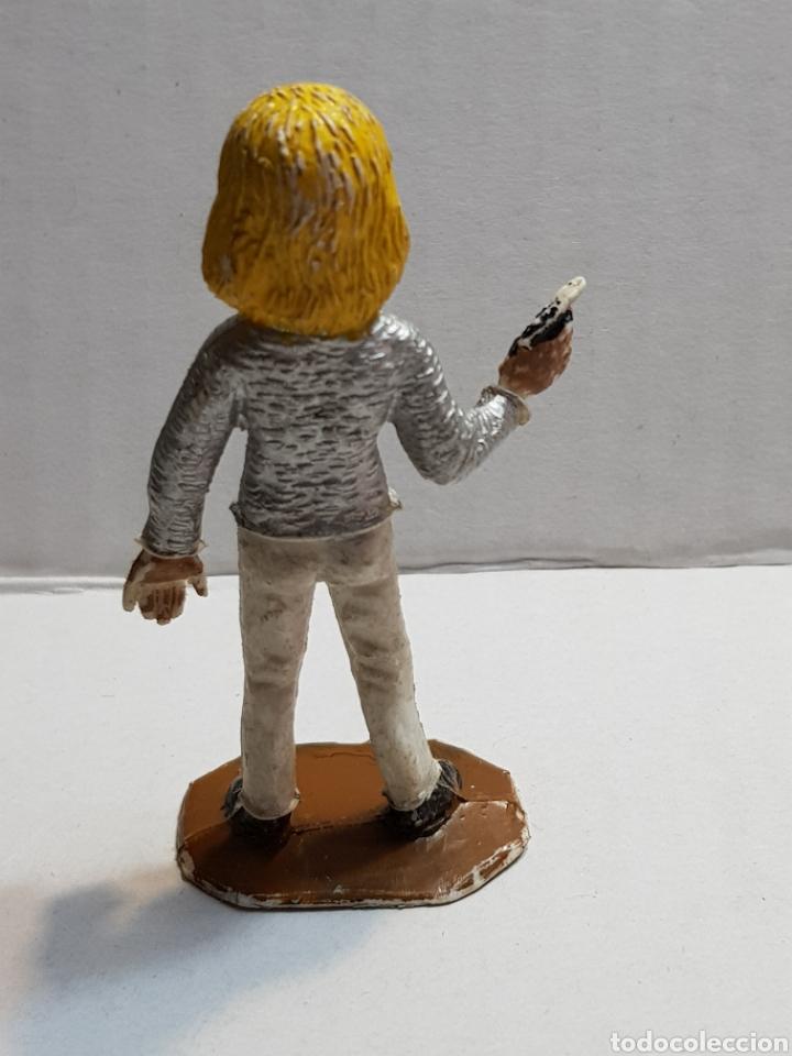 Figuras de Goma y PVC: Figura Thunderbird de Comansi serie guardianes del Espacio - Foto 2 - 155339225