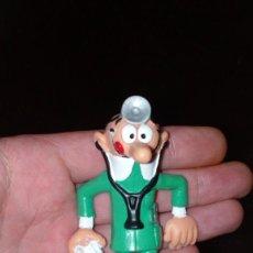Figuras de Goma y PVC: ANTIGUA FIGURA EN GOMA PVC COMICS SPAIN 1986 MORTADELO MEDICO. Lote 155371454