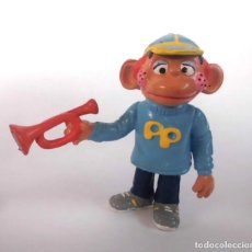 Figuras de Goma y PVC: ANTIGUA FIGURA EN GOMA PVC COMICS SPAIN SIN MARCAR PEPE SOPLILLO CON TROMPETA. Lote 155371922