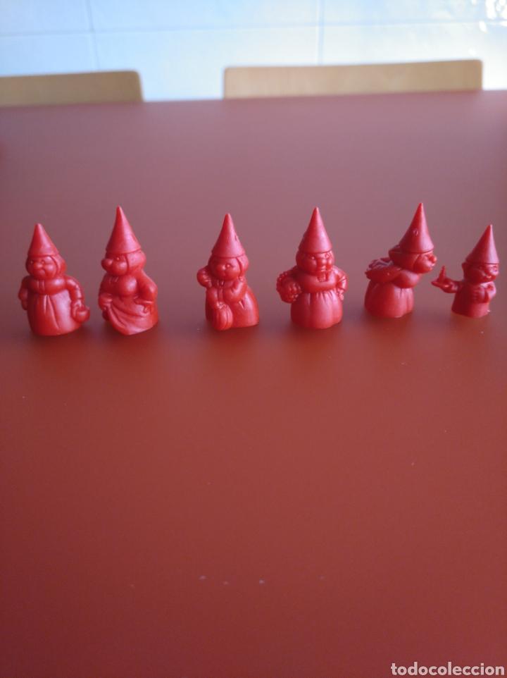 Figuras de Goma y PVC: SERIE CASI COMPLETA DUNKIN , DANONE, PHOSKITOS, DE DAVID EL GNOMO, 36 PIEZAS DIFERENTES - Foto 7 - 155385010