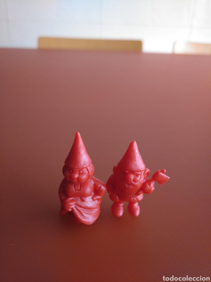 Figuras de Goma y PVC: SERIE CASI COMPLETA DUNKIN , DANONE, PHOSKITOS, DE DAVID EL GNOMO, 36 PIEZAS DIFERENTES - Foto 8 - 155385010