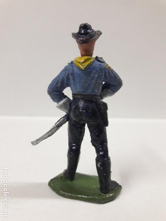 Figuras de Goma y PVC: OFICIAL FEDERAL . REALIZADO POR JECSAN . SERIE DESCABEZADOS . AÑOS 50 EN GOMA - Foto 2 - 155387374
