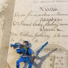 Figuras de Goma y PVC: MUÑECO SÉPTIMO DE CABALLERÍA REAMSA . Lote 155437306