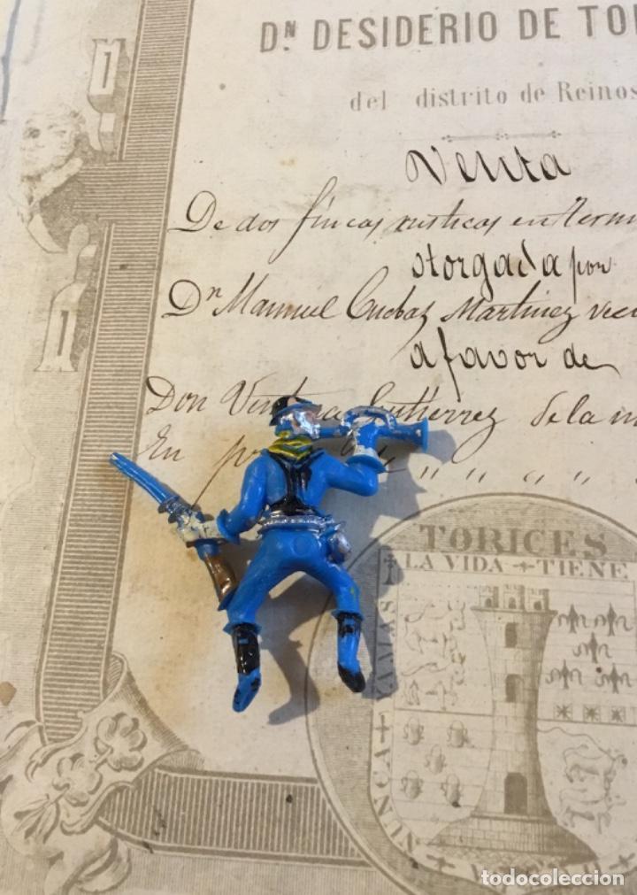 Figuras de Goma y PVC: Muñeco Séptimo de caballería reamsa - Foto 2 - 155437306