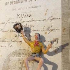 Figuras de Goma y PVC: DIFÍCIL VAQUERO COMANSI PINTURA ORIGINAL . Lote 155437962