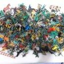 Figuras de Goma y PVC: GRAN LOTE FIGURAS DE PLASTICO COMBOYS,SOLDADOS ECT. Lote 155453705