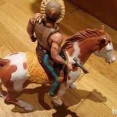 Figuras de Goma y PVC: THE WILD WEST. Lote 155479490